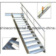 Hot DIP Galvanized Mild Steel Staircase